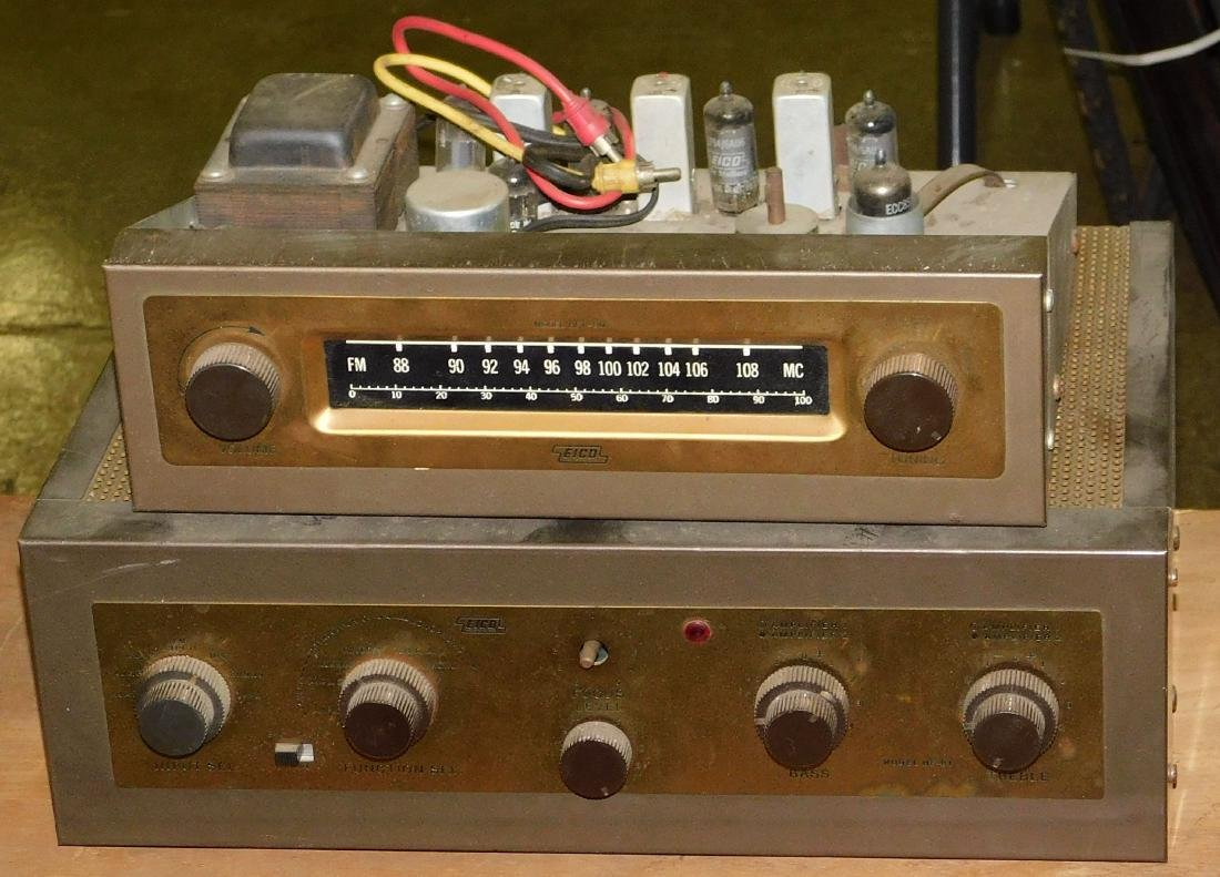 Eico Tube amplifier and Reciever
