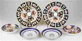 Royal Crown Derby and Chinese export plates