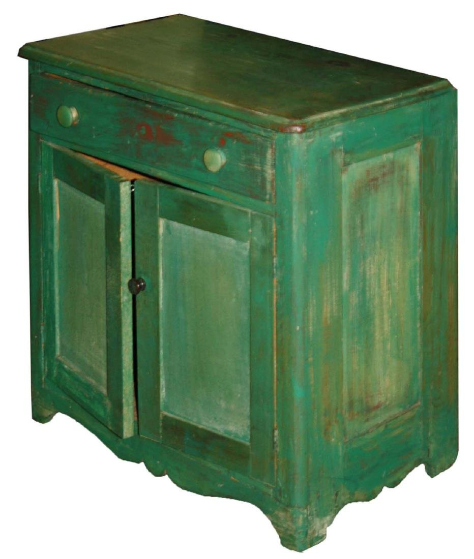 Small Green commode