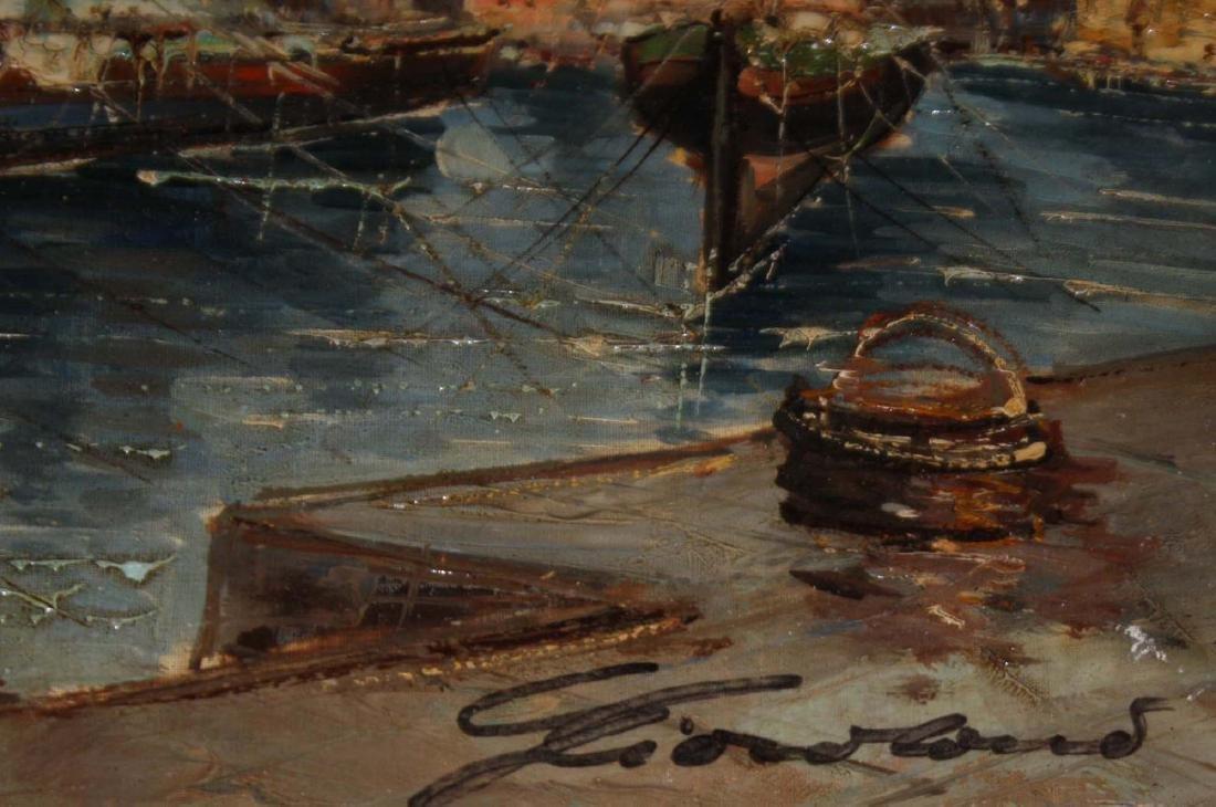 20th c Sea Scape signed illegibly - 2