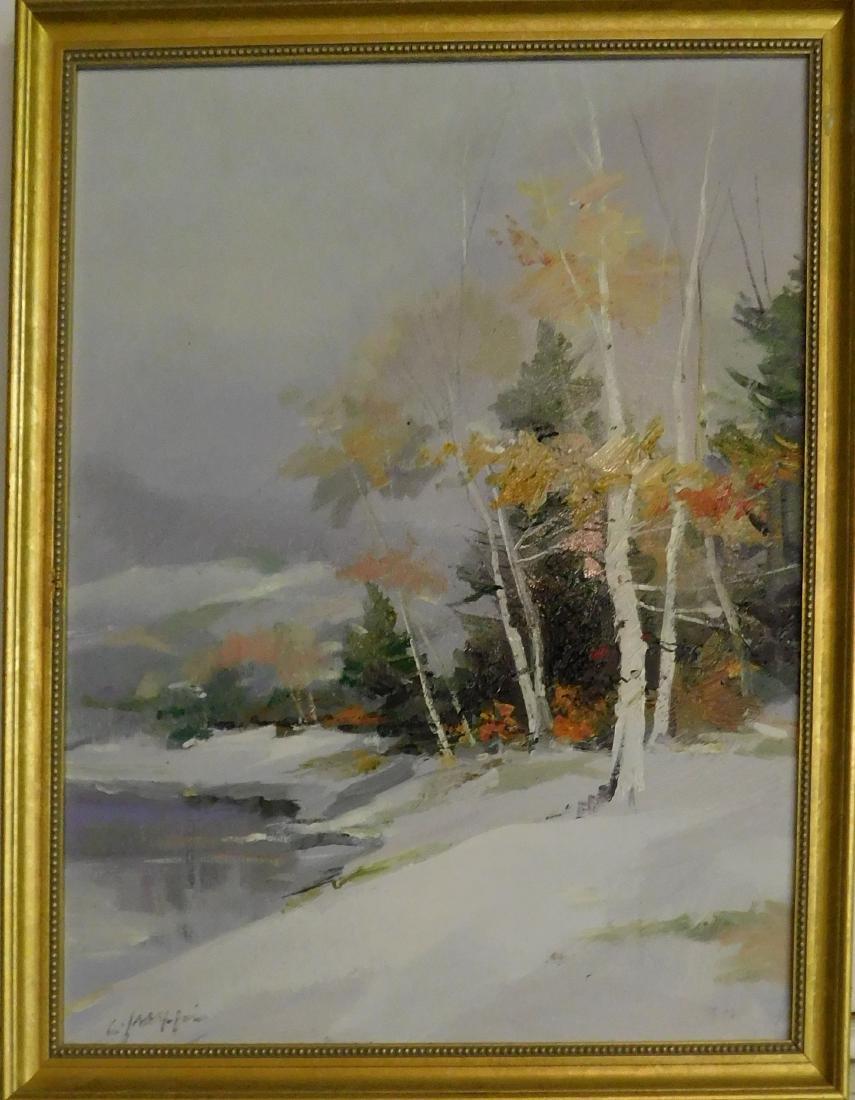 C Jaffries (20th c ) Winter