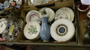 lot of porcelain including Wedgwood plates