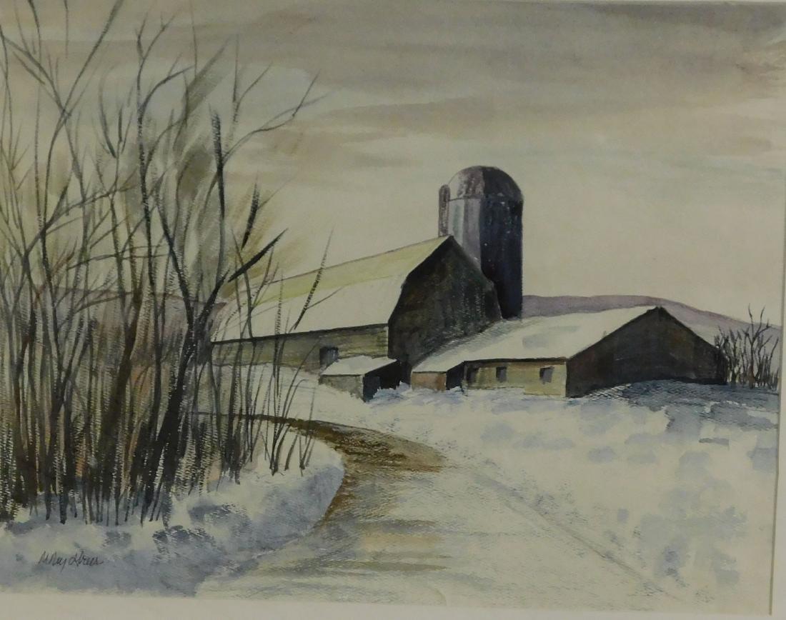 Mary Greer (VT 20th) Lepine Barns Morrisville
