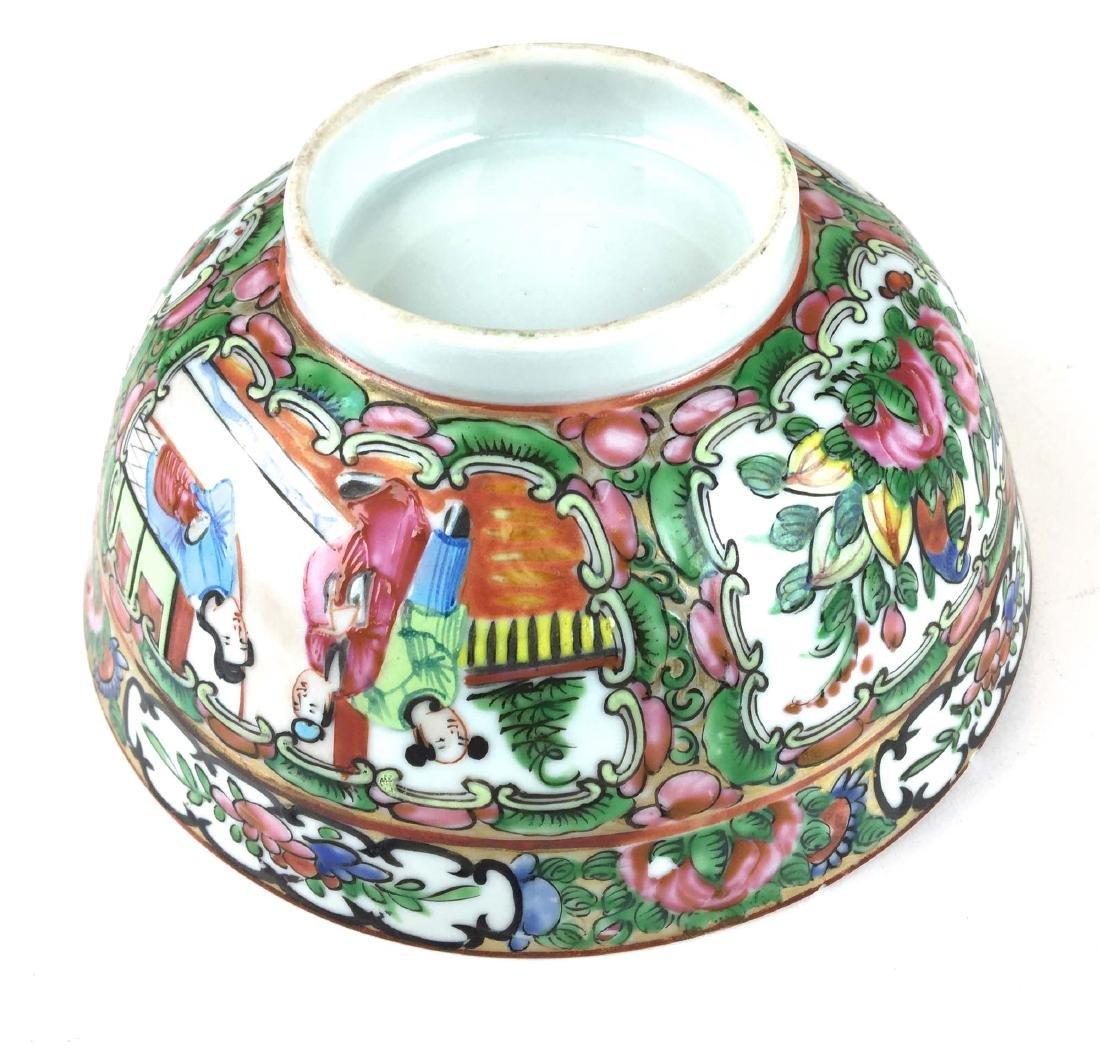 19th c Rosemedallion bowl - 2