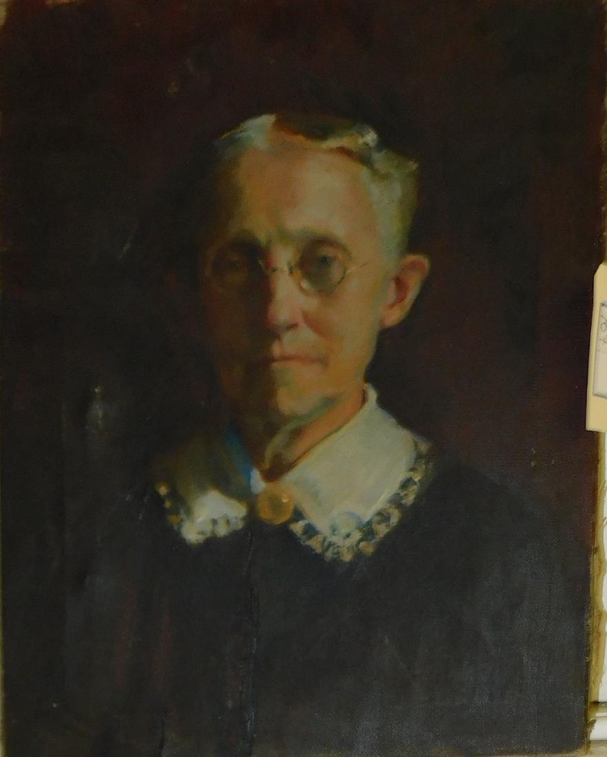 19th c portrait of a woman