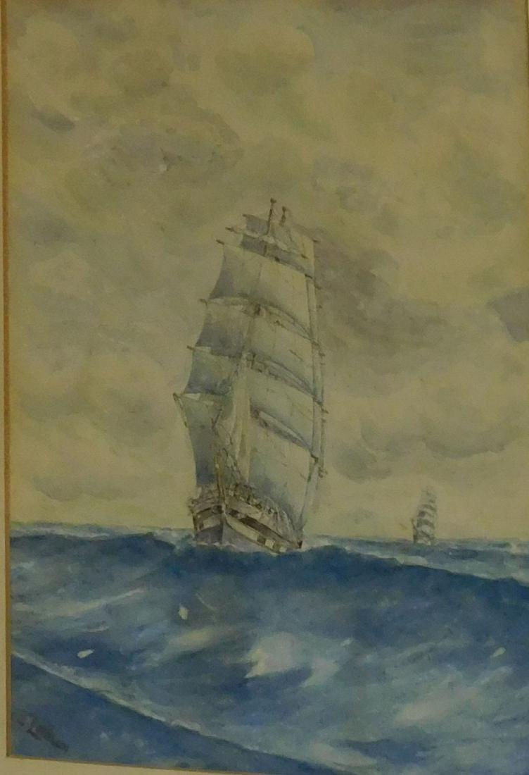 E Lanham-Ship at Sea