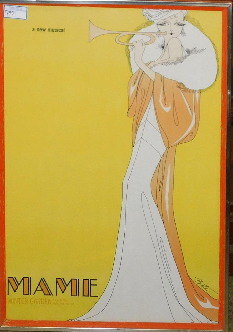 Mamie Broadway poster
