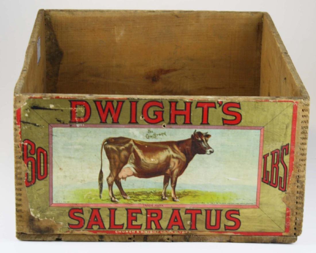 ca 1900 Dwight's Cow Brand Saleratus 60# crate