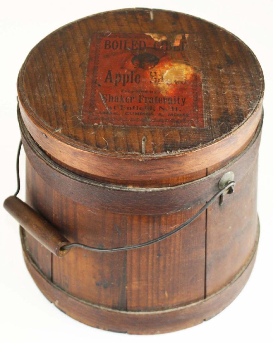 Shaker Boiled Cider Apple Sauce bucket