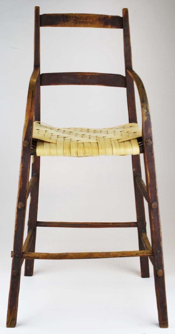 Quebec Habitant high chair