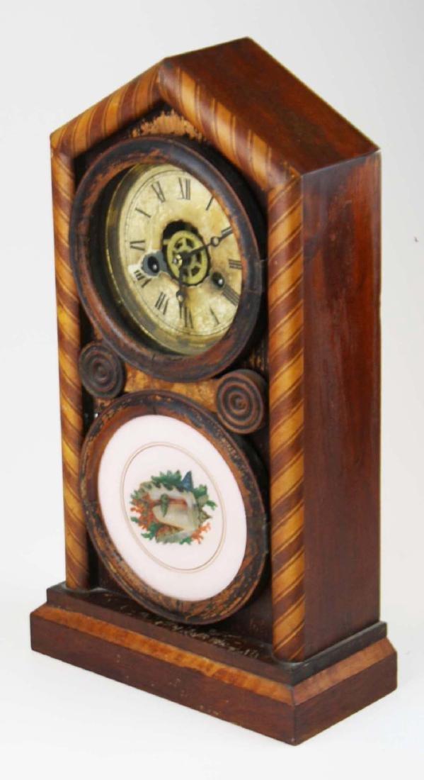 Ingraham Doric Figure 8 Clock