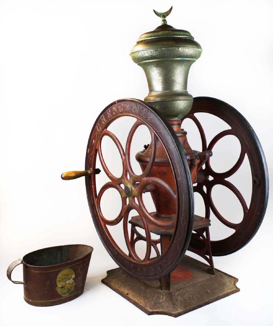 ca 1890 Crescent, Rutland, VT coffee grinder