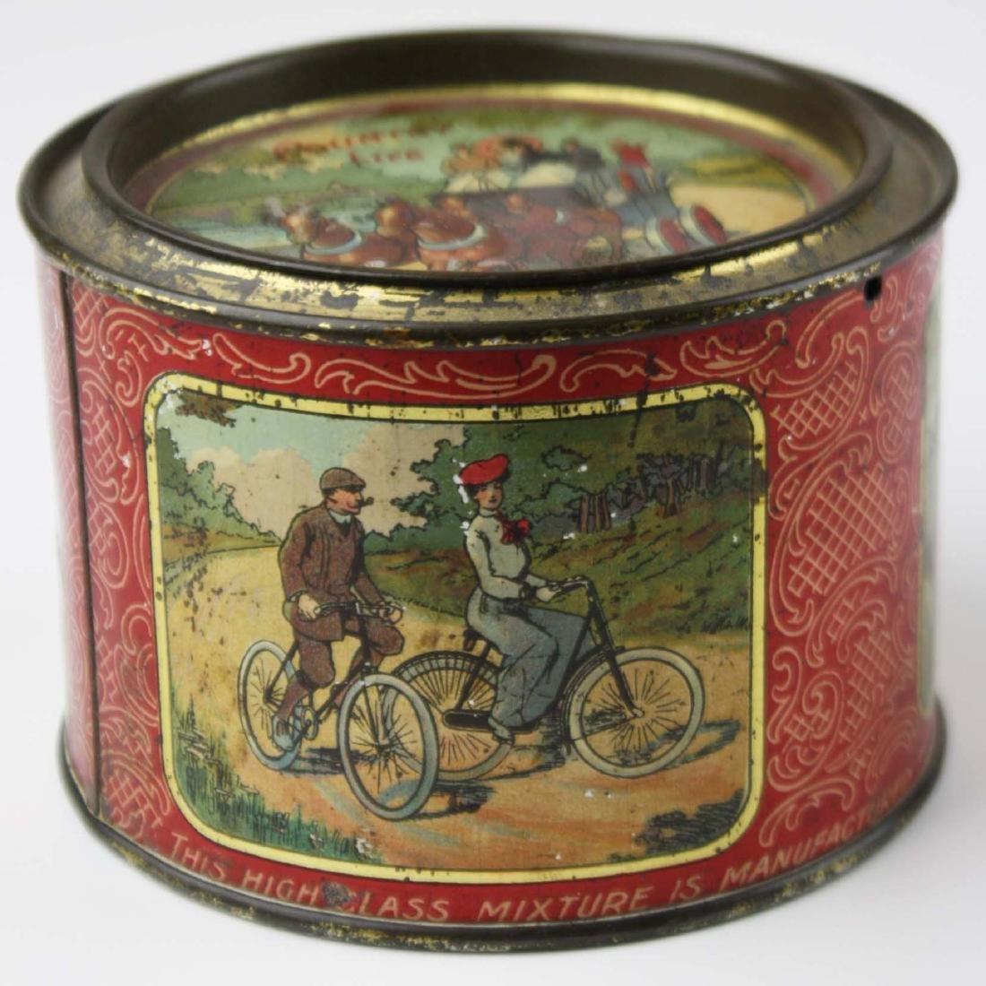 Country Life round tobacco tin