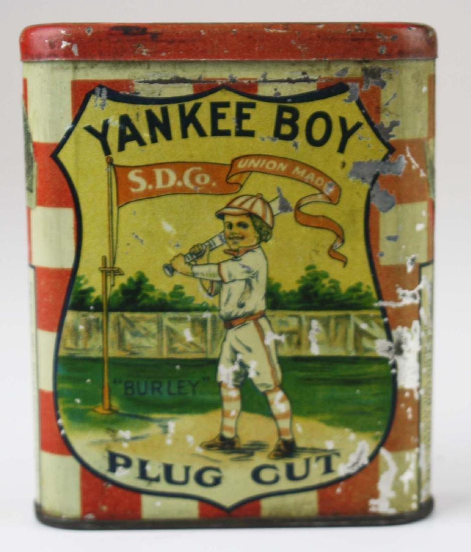 Yankee Boy pocket tobacco tin