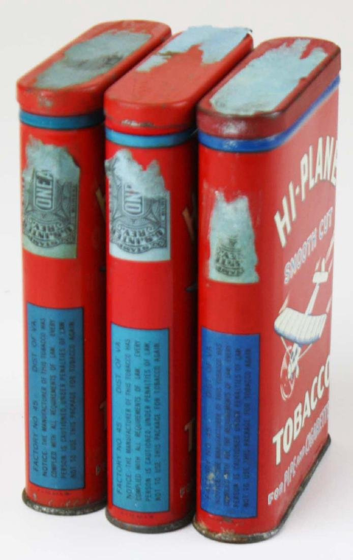 3 Hi-Plane pocket tobacco tins - 2