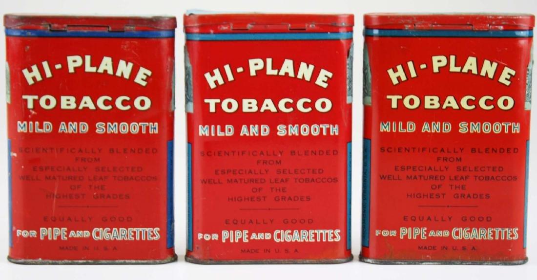 3 Hi-Plane pocket tobacco tins - 5