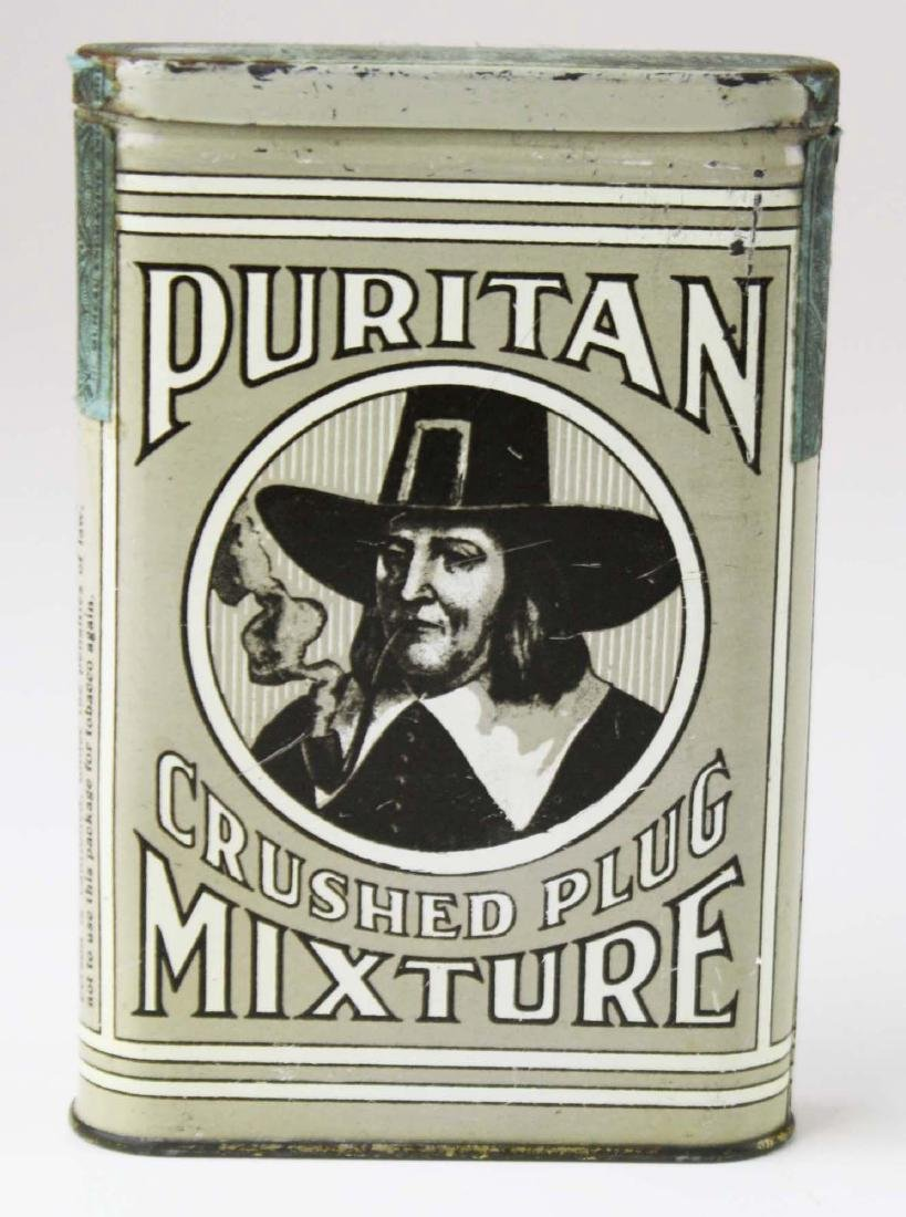 Puritan pocket tobacco tin