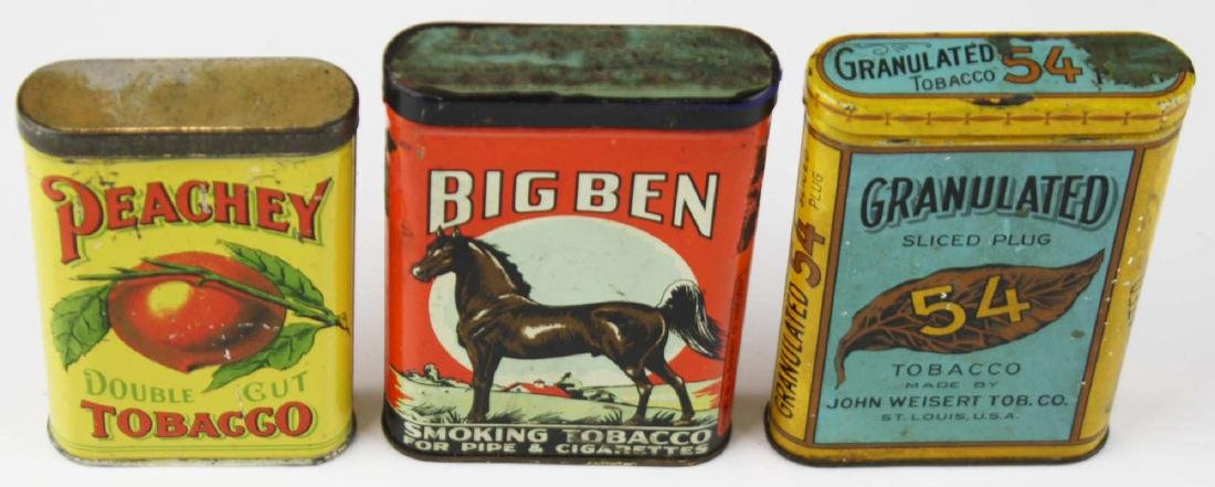 Big Ben, Peachey, 54 pocket tobacco tins - 3