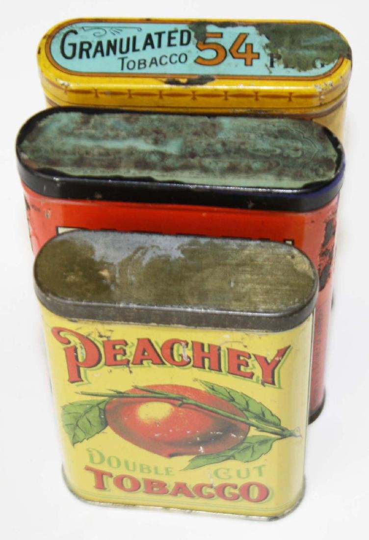 Big Ben, Peachey, 54 pocket tobacco tins - 6