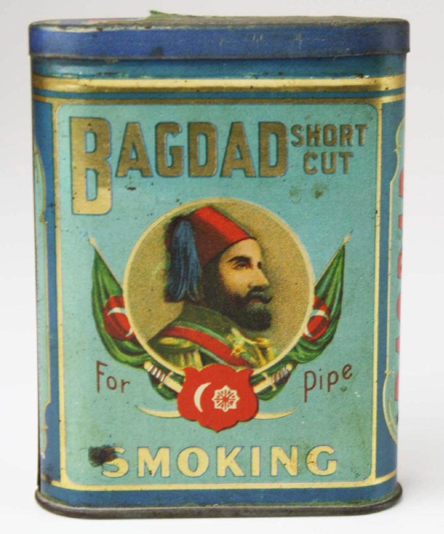 Bagdad pocket tobacco tin