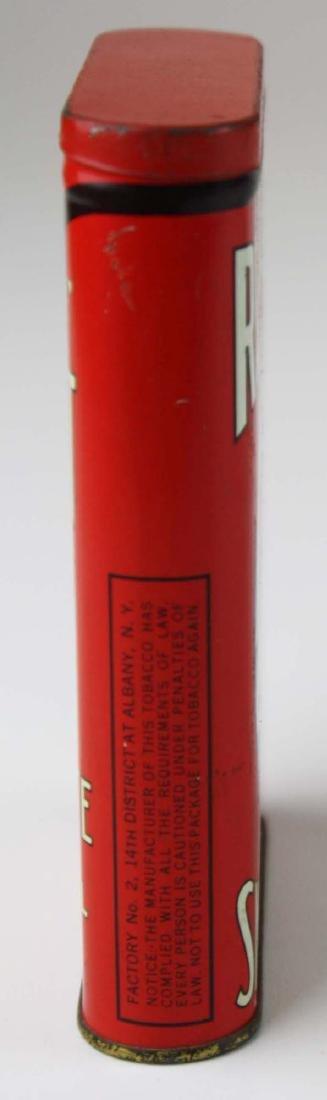 Red Jacket pocket tobacco tin - 3
