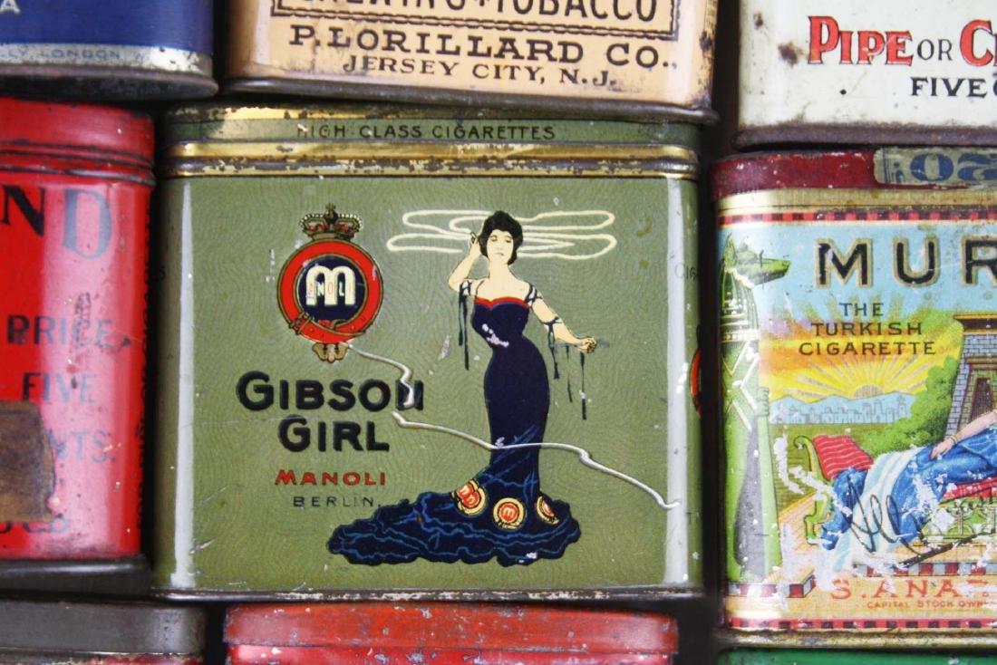 10 small pocket tobacco tins - 3