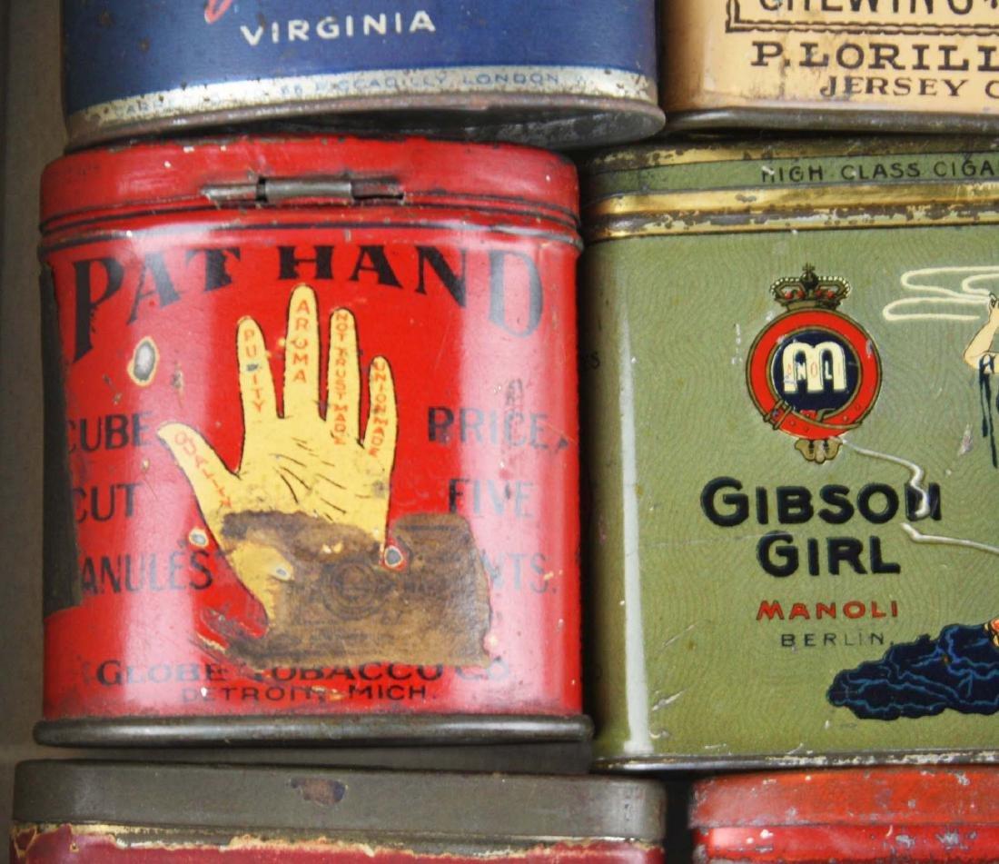 10 small pocket tobacco tins - 5