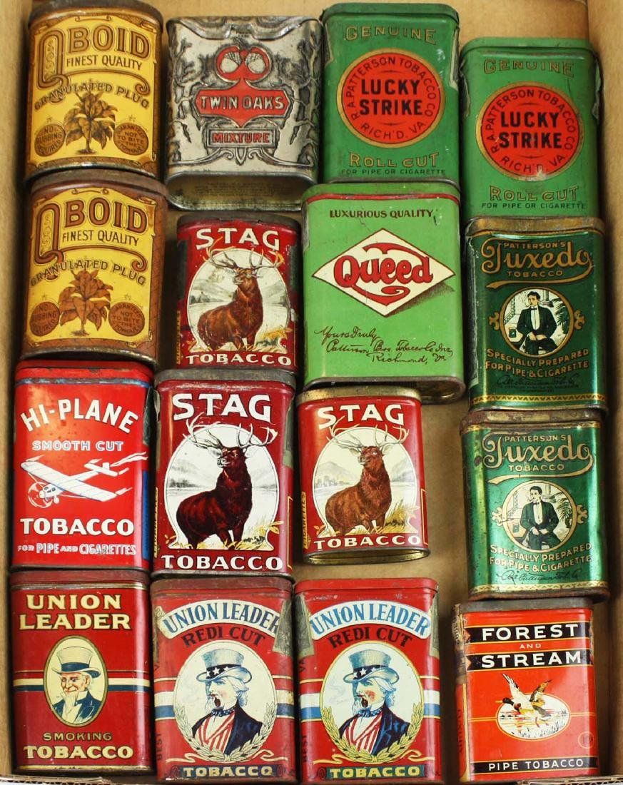 16 pocket tobacco tins