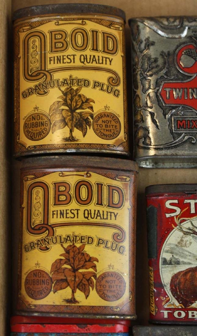 16 pocket tobacco tins - 4