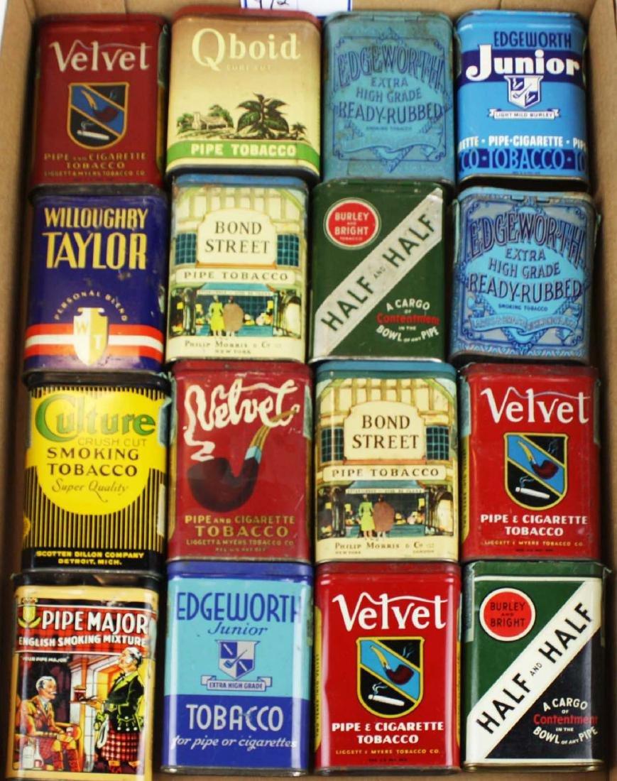 16 pocket tobacco tins