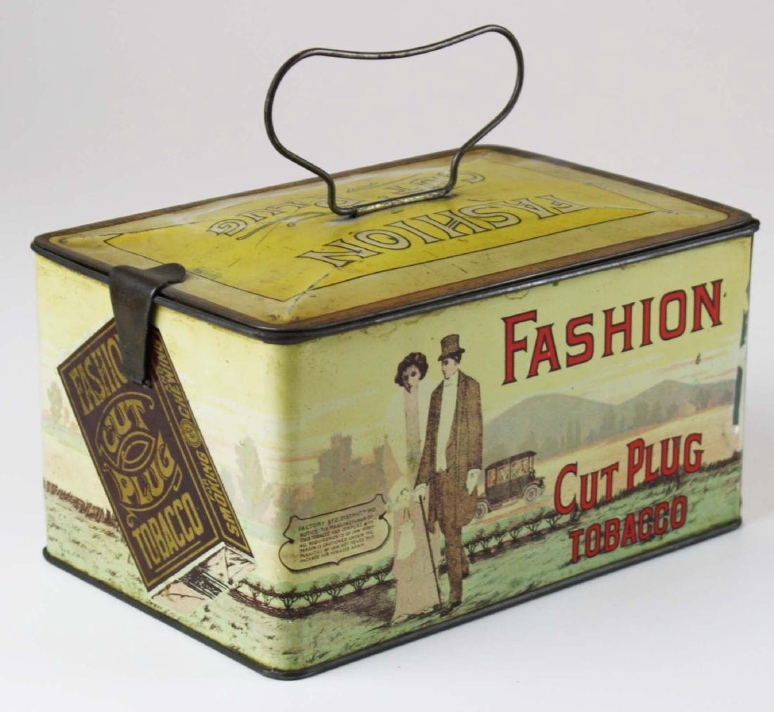 Fashion lunchbox tobacco tin