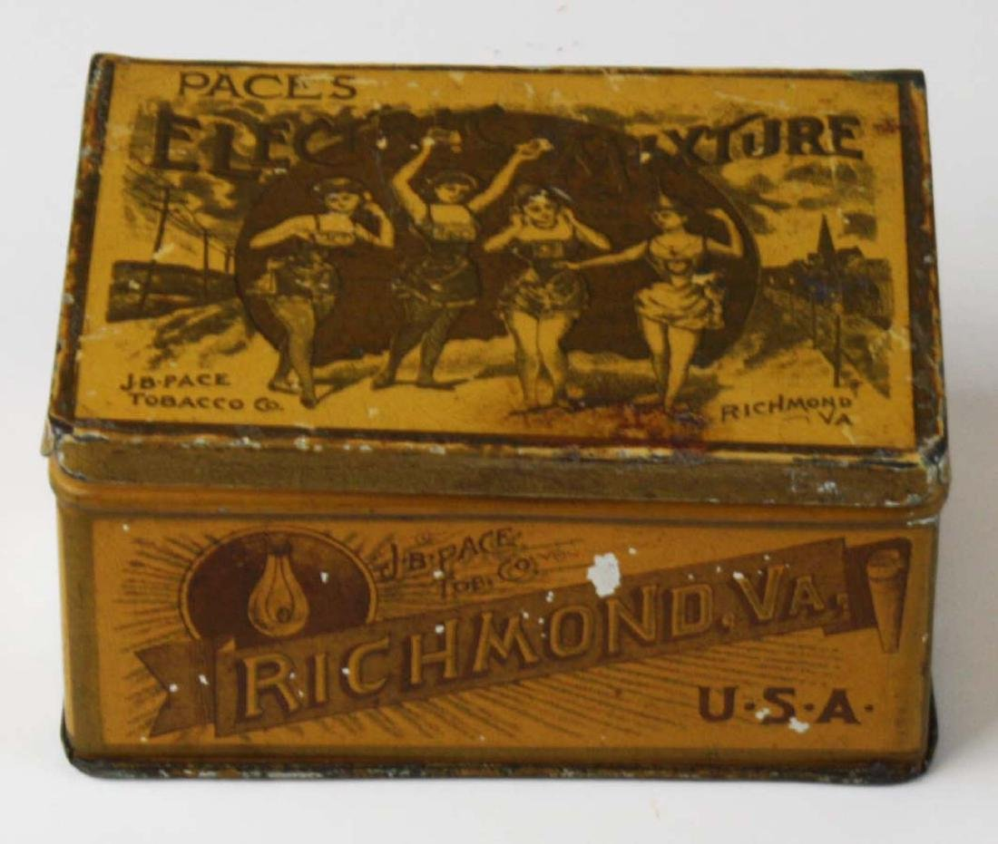 Pace's Electric Mixture tobacco tin