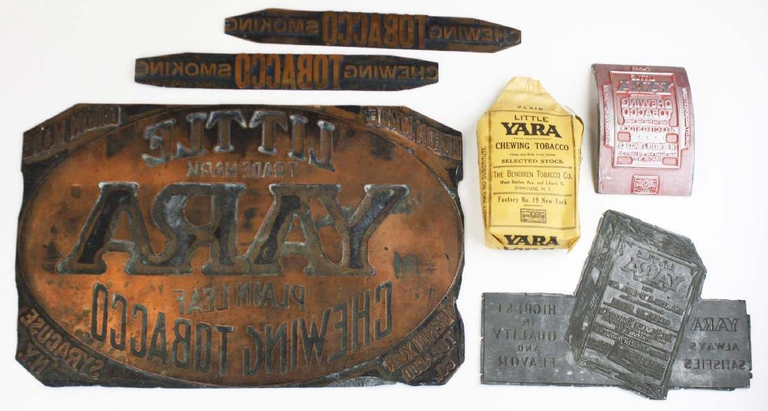 Little Yara chewing tobacco printing plates