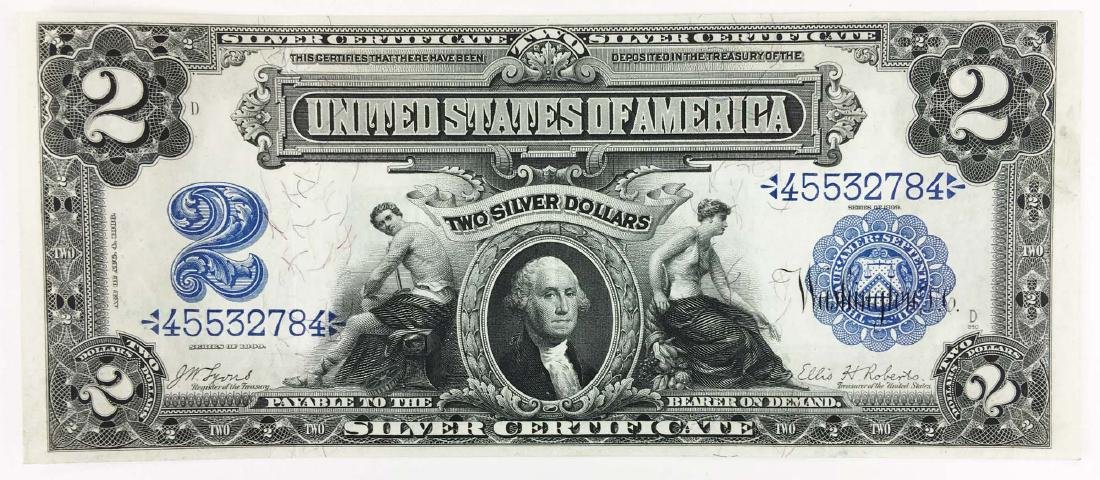 1899 $2 Silver Certificate