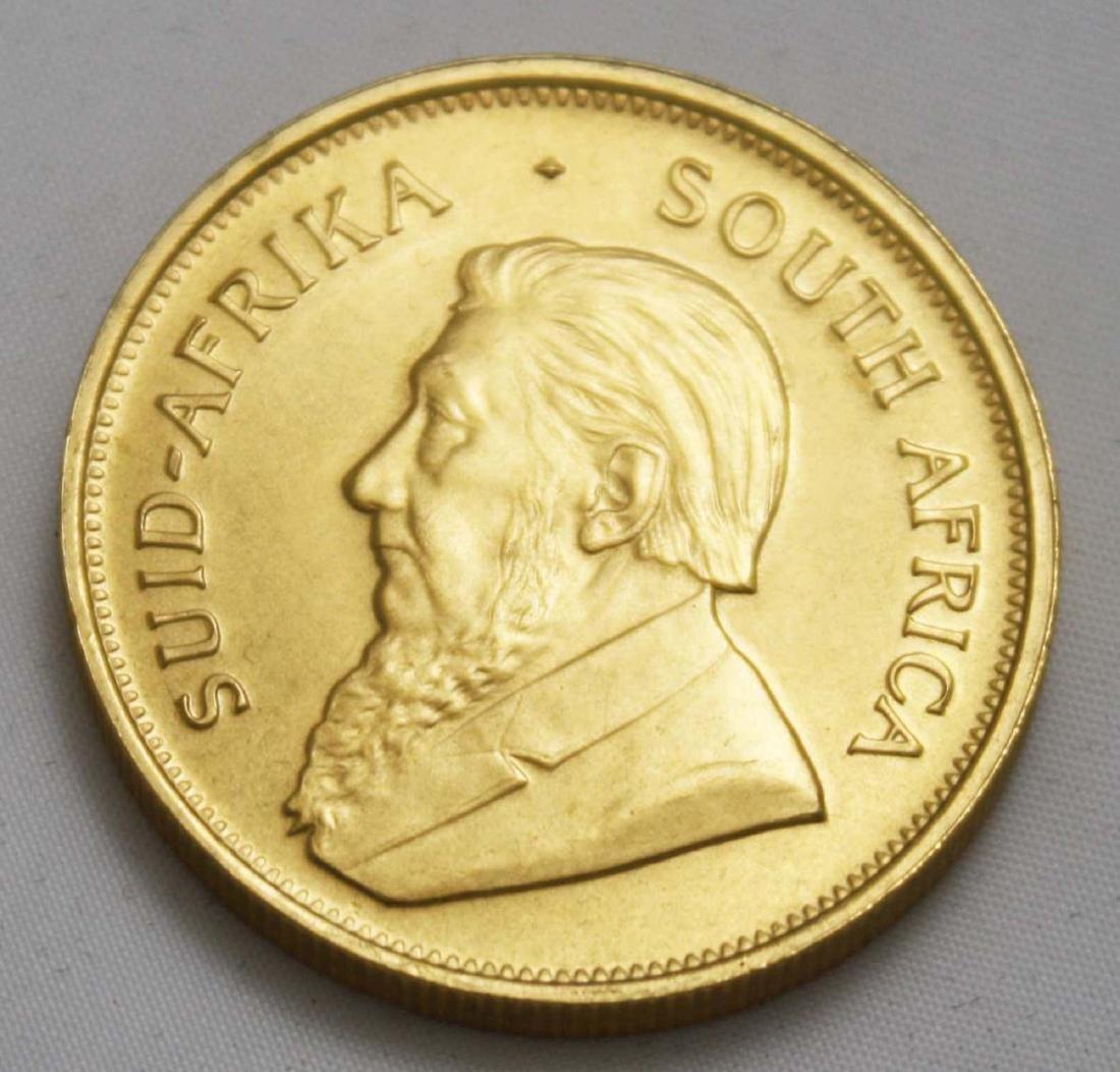 1975 1 oz gold Krugerrand