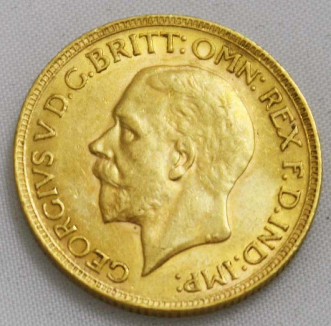 1930 Gold British Sovereign George V