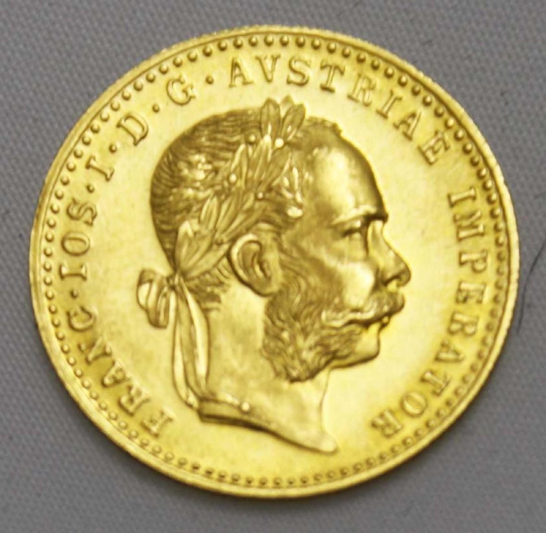 1915 Austrian Franc Gold Coin
