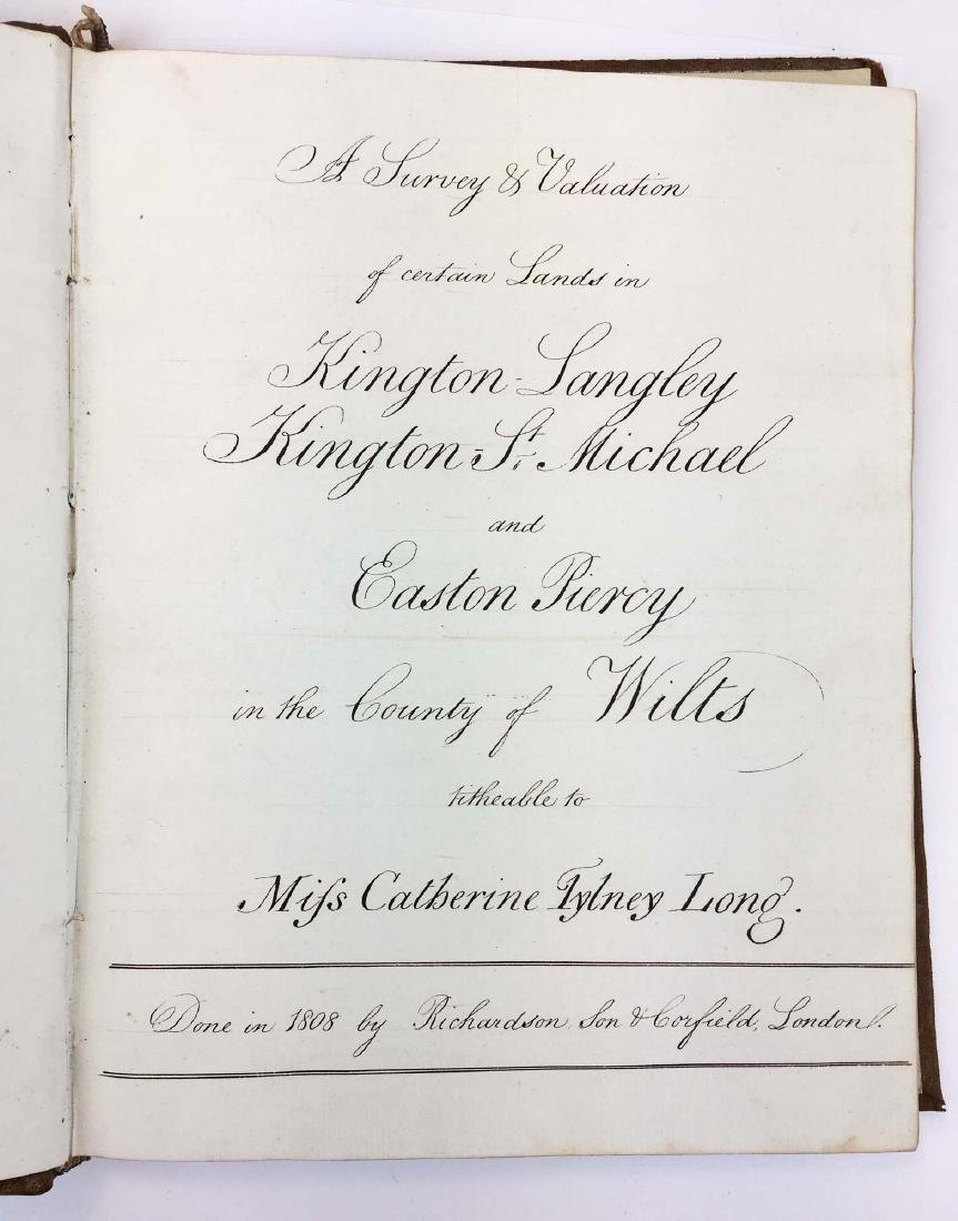 1808 Miss Catherine Tylney Long tithes