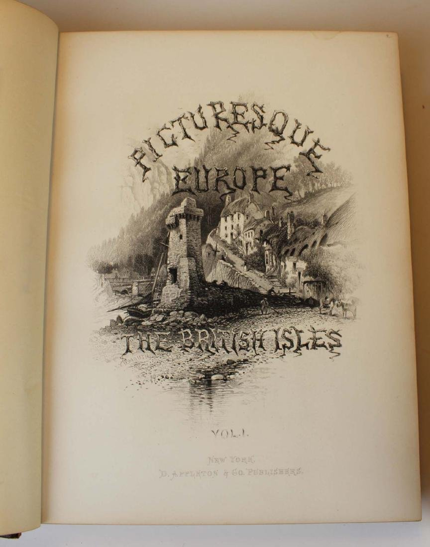 1875 Picturesque Europe 1st edition