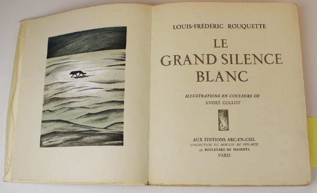1944 Le Grand Silence Blanc  Andre Collot