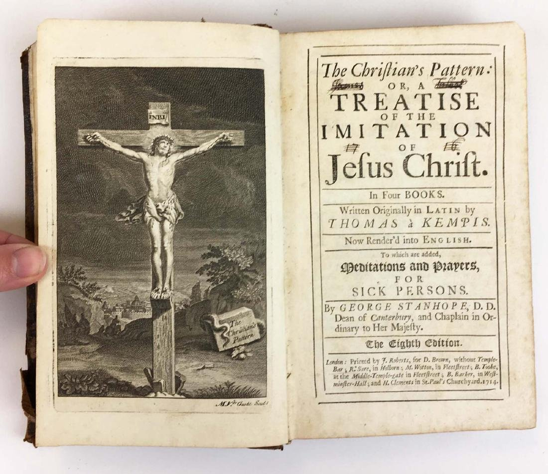 1714 Imitation of Jesus Christ (8th ed)