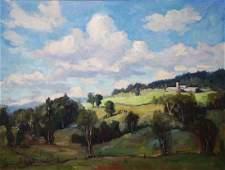 Eric Tobin (VT 1958-) Summer Pastoral