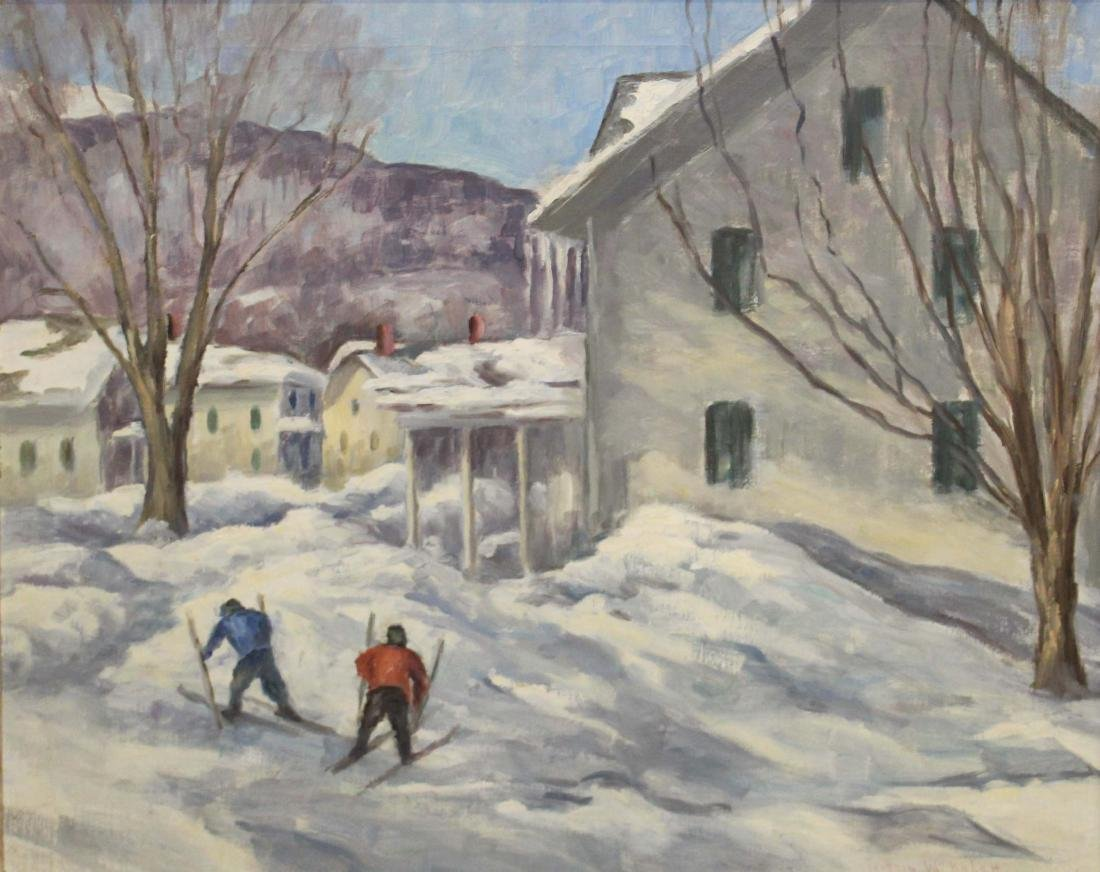 Georgia Balch (VT 1888-1981) Winter Fun