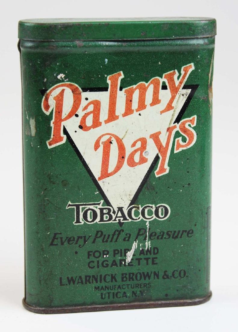 Palmy Days pocket tobacco tin