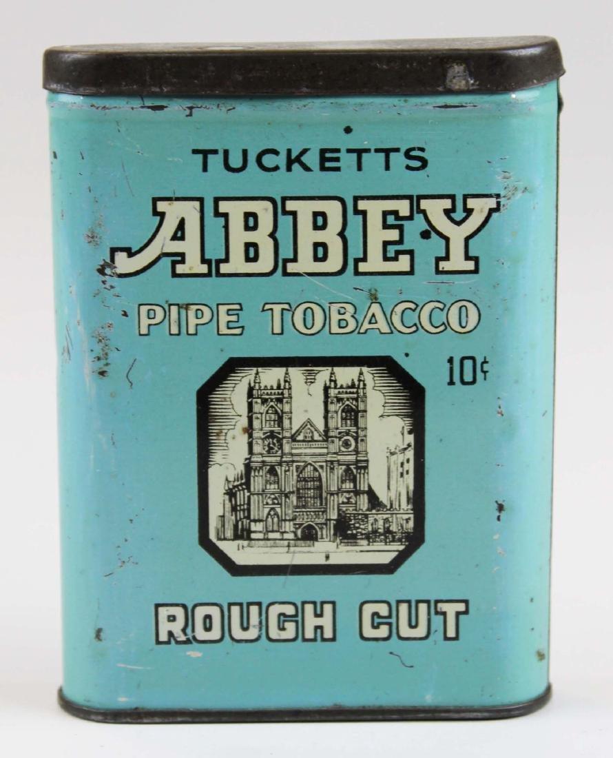 Tuckett's Abbey pocket tobacco tin
