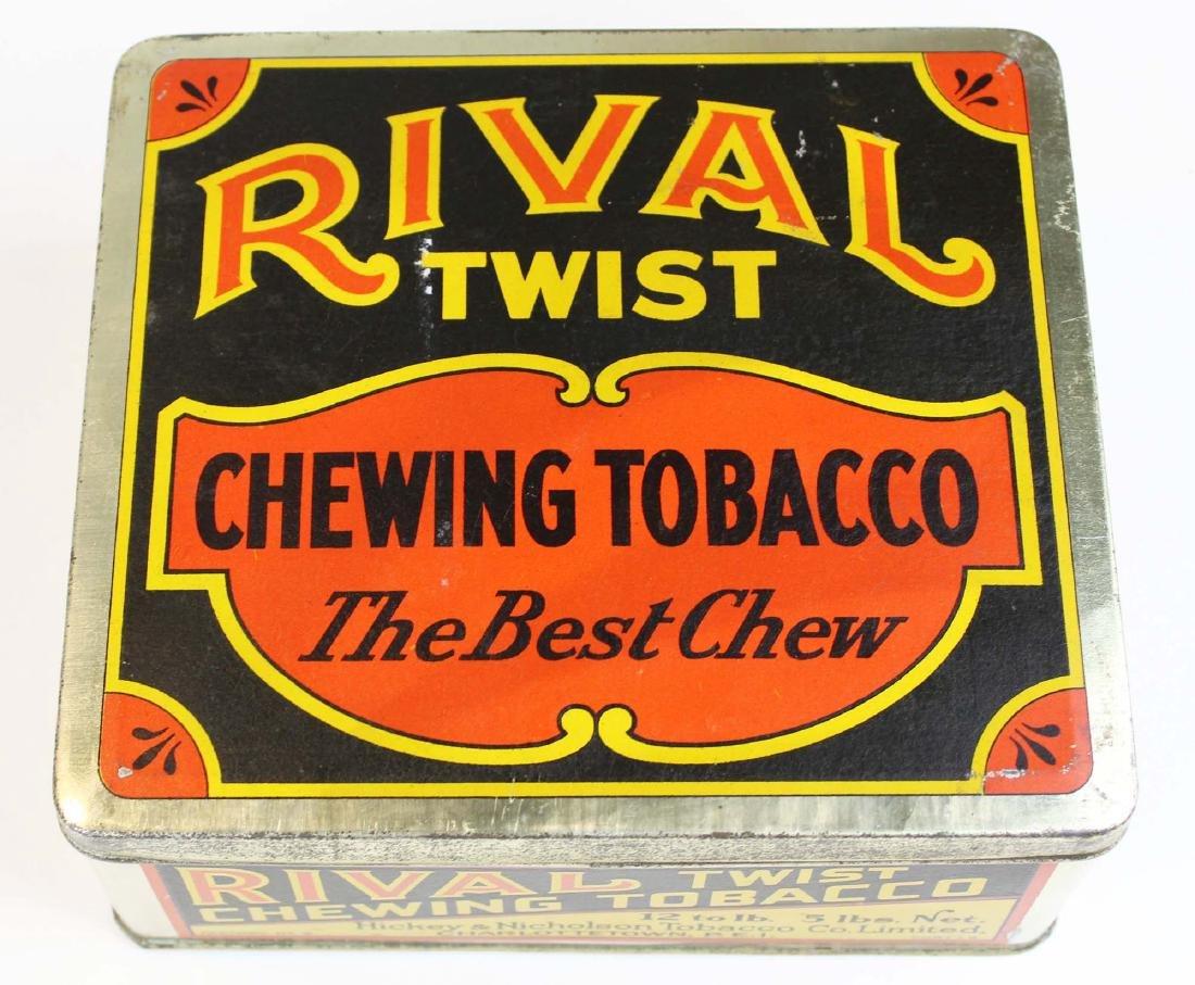 Rival Twist countertop 5 lbs store tin
