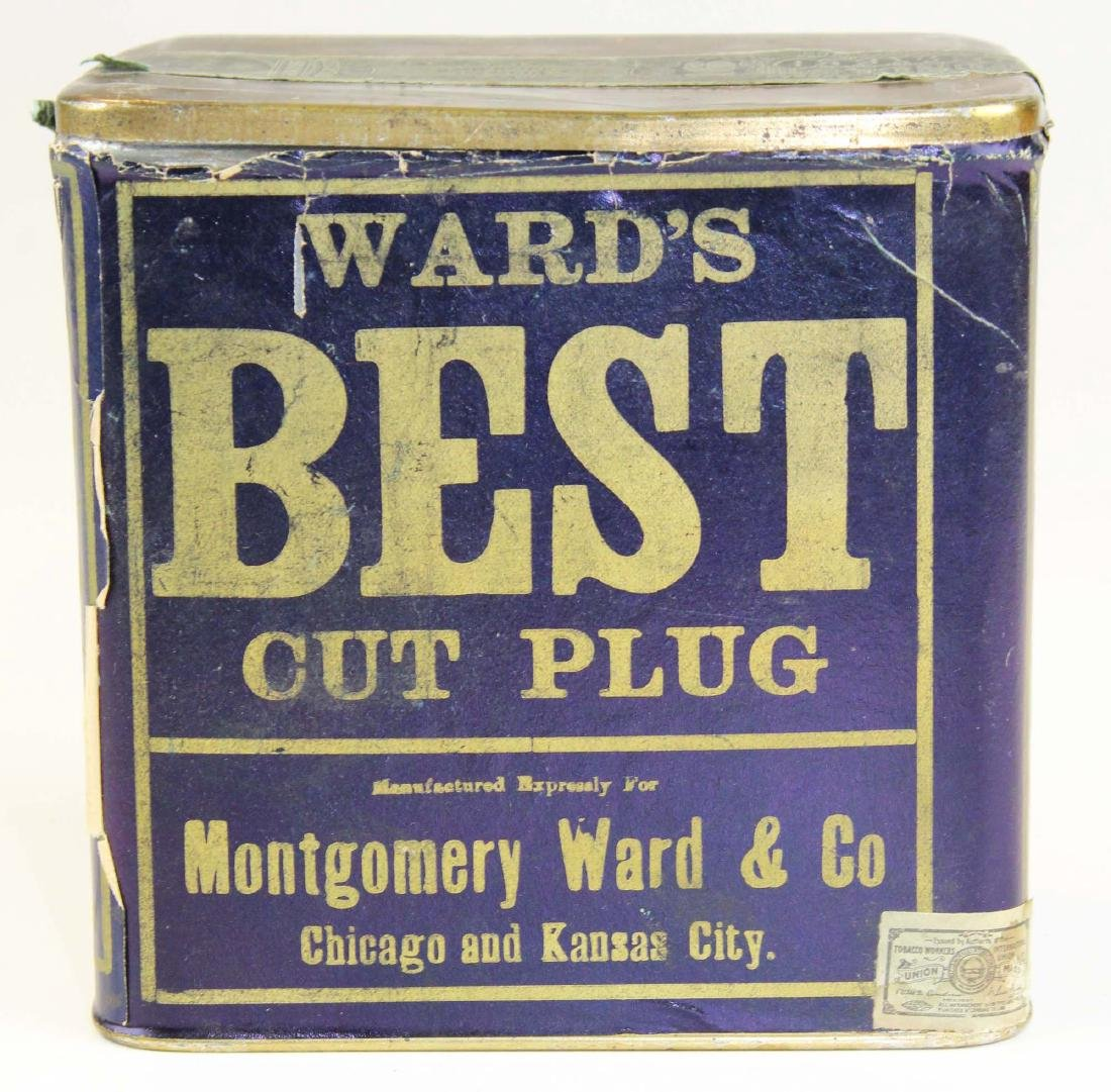 Ward's Best large tobacco tin