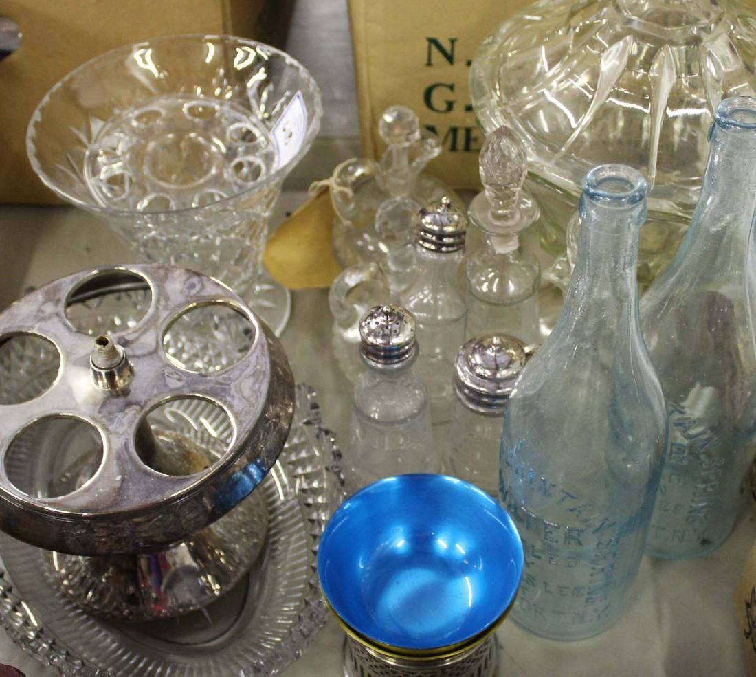 Group of glassware