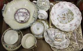 Austrian fish plates Royal Worcester cup