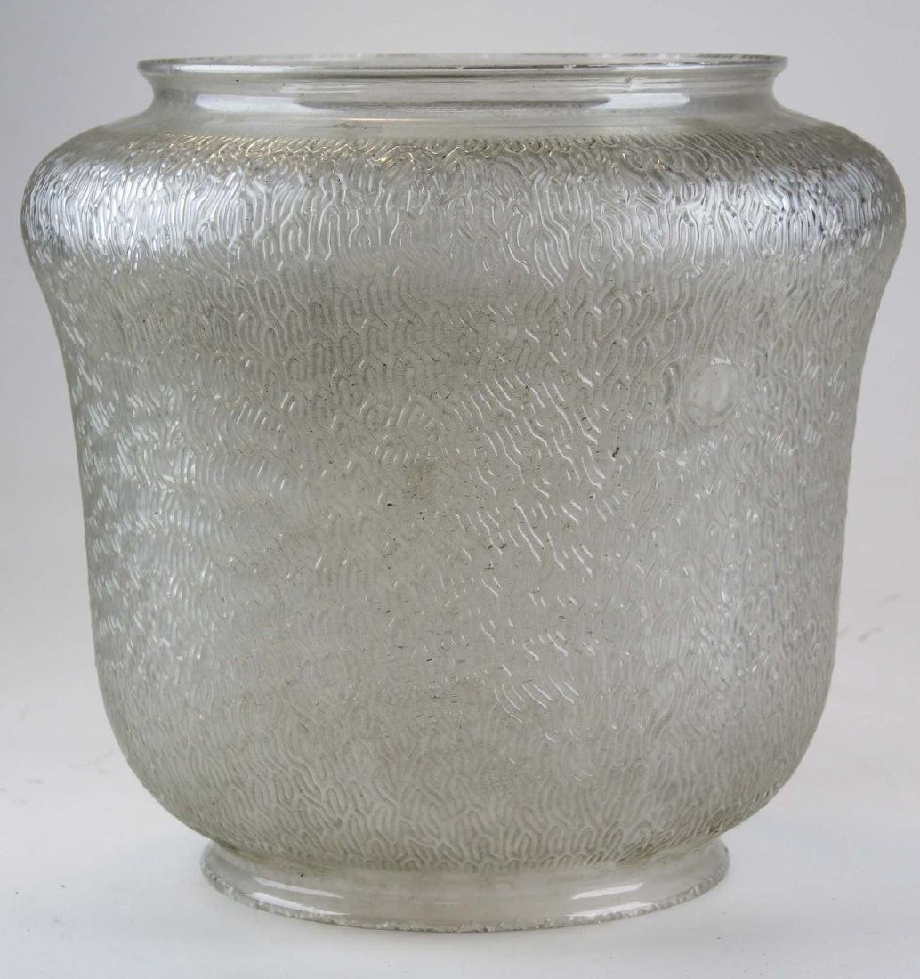 large General Electric glass shade